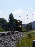 A Nice NS 8776 leads NS 21R into town