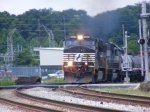 NS 9043 rolls into town with NS 175