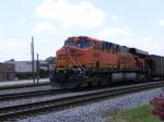 BNSF 5888 as DPU on NS 739