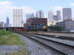 CSX Q141 passing the old NS building