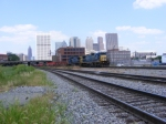 Ive Always want this shot...CSX Q141 with the ATL Skyline
