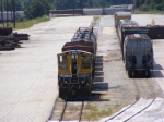 CSXT 1215 sits quietly on the other side of Tilford