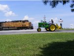 UP 7337 and John Deere A