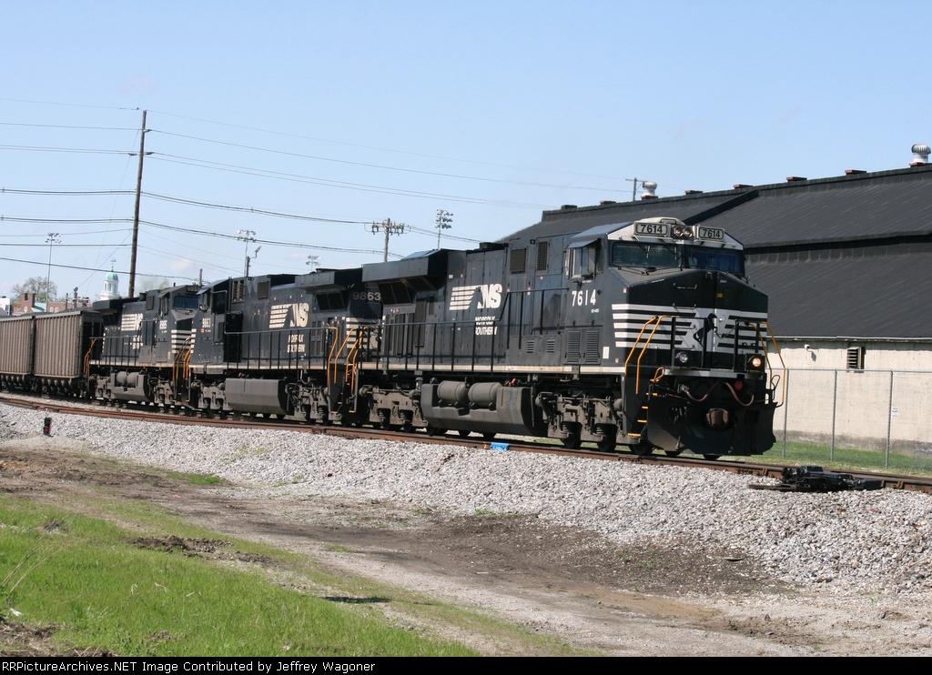 Eastbound NS Coal Train