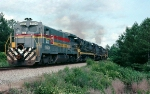 Seaboard Coast Line B30-7 #5504, leading Hamlet, NC to New Orleans, LA Western Railway of Alabama train #215