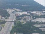 Autoracks Over I-285 (I think) - Leaving Hartsfield ATL-MLI