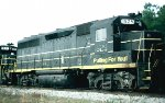 "Seaboard Coast Line GP40 #1529, with ""SEABOARD"" showing thru on the long-hood,"