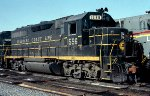 Seaboard Coast Line GP40 #1596 in the Tilford Yard Service Center