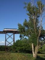 NJT 4019 goes over Moodna viaduct