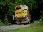 BNSF 6022 leading NS 214