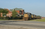 Q681 going by the depot