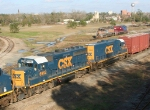 CSX 6962-2362 on Q650 heading for the yard