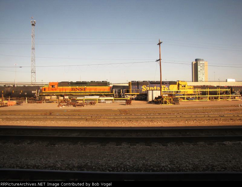BNSF 7875and 6892