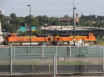 BNSF 9173 and 9245