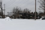 Ns Southbound in the snow