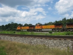 BNSF 5202 and 5057