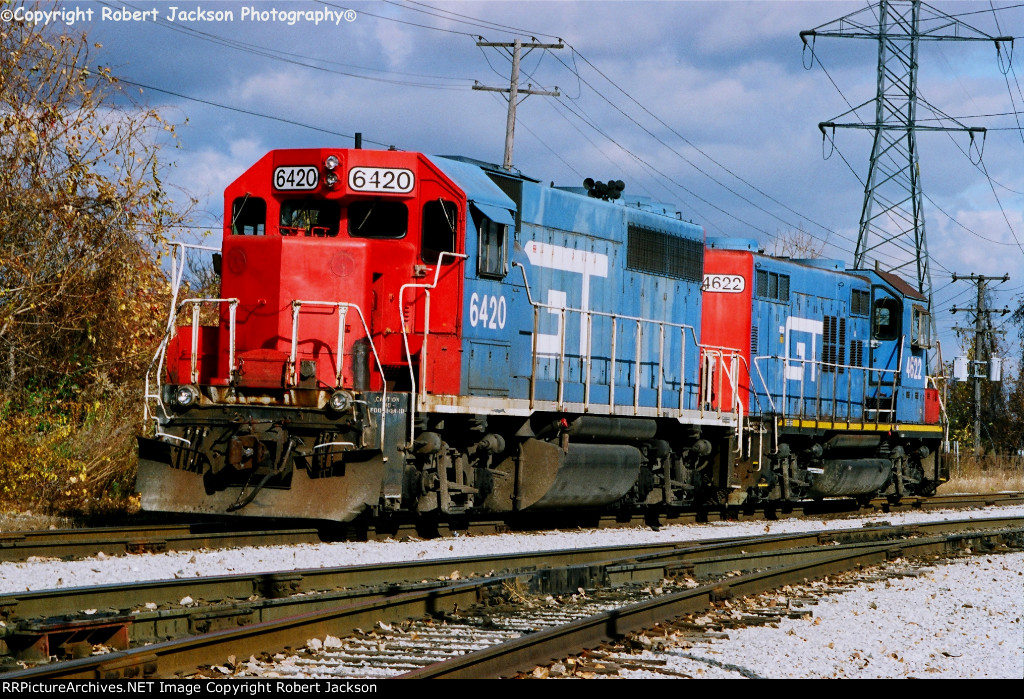 GTW 6420 and 4622