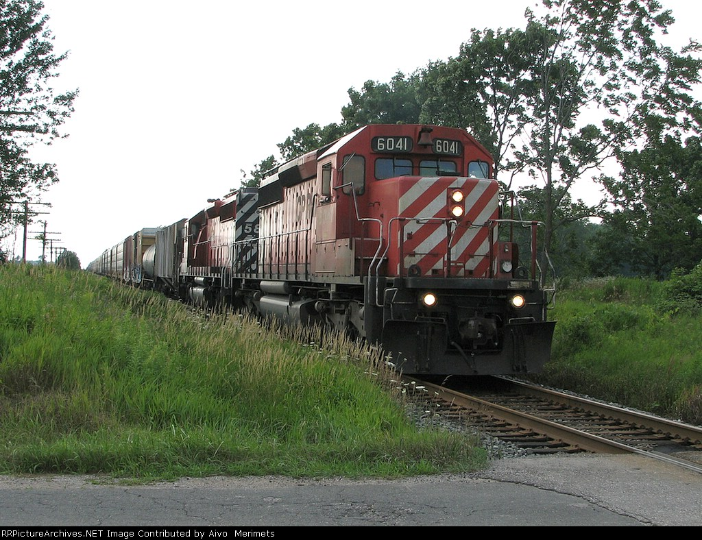 CP 6041 at Mile 96 Galt Sub.