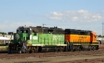 One-of-a-kind BNSF patch job