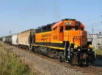 BNSF 2656 Switching Frito-Lay