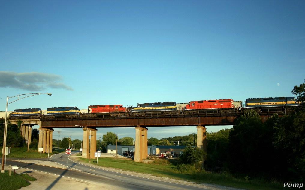 Northbound DME Manifest Train