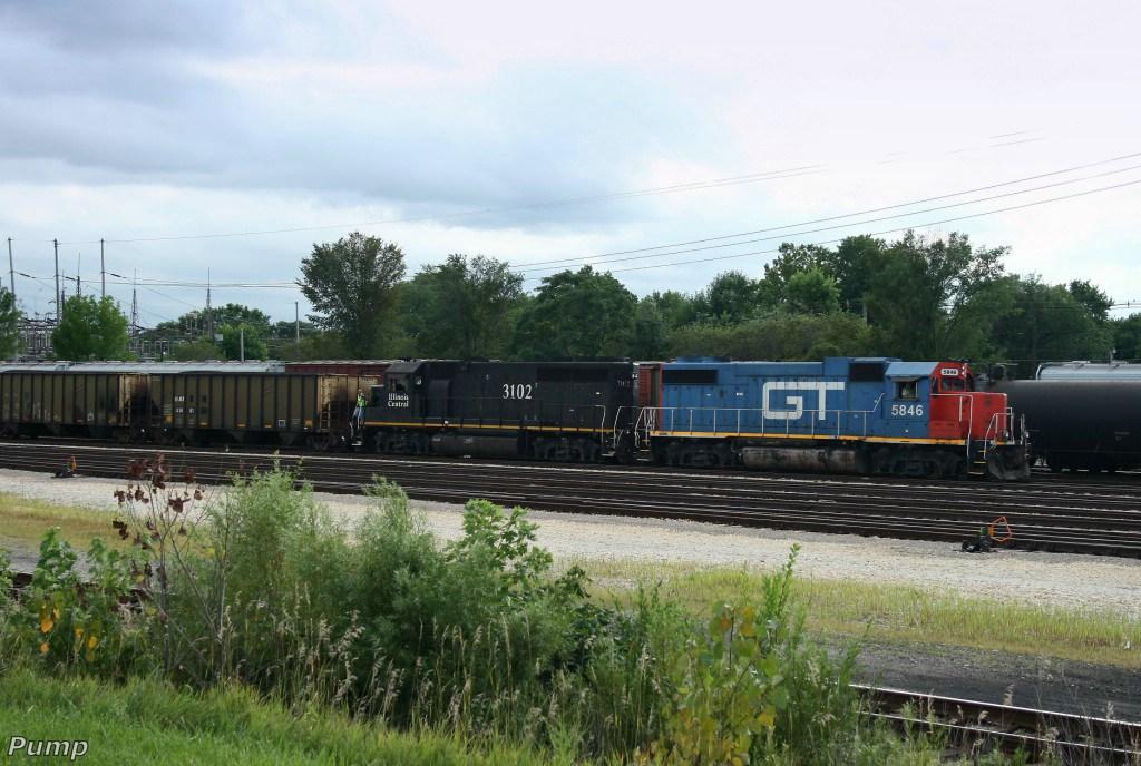 Northbound CN Local Train
