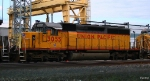 Stored UP SD40-2 in UP Neff Yard