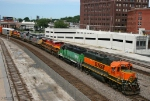 Eastbound BNSF Yard Job Train