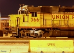 Ex-CNW GP38-2 in UP Proviso Yard