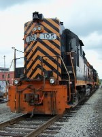 Wheeling & Lake Erie GP35-3 105