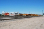 BNSF 795 On Point Moving To The Fuel Track