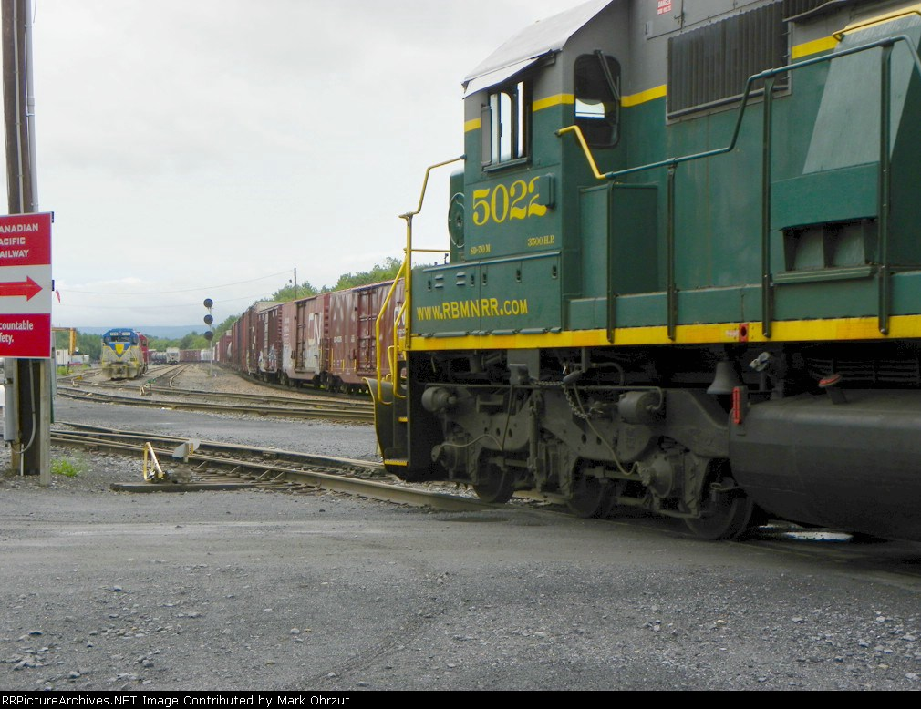 Canadia Pacific Yard, 3 railroads