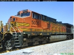 C44-9W BNSF number #5035