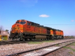 Two BNSF Dash9s in Mexico
