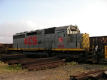 SD40 Kcsm #3000 with work train in Carneros