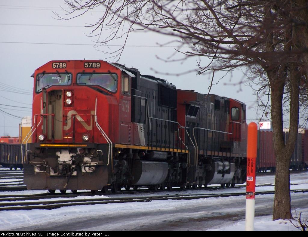 CN Railway Markham yard.