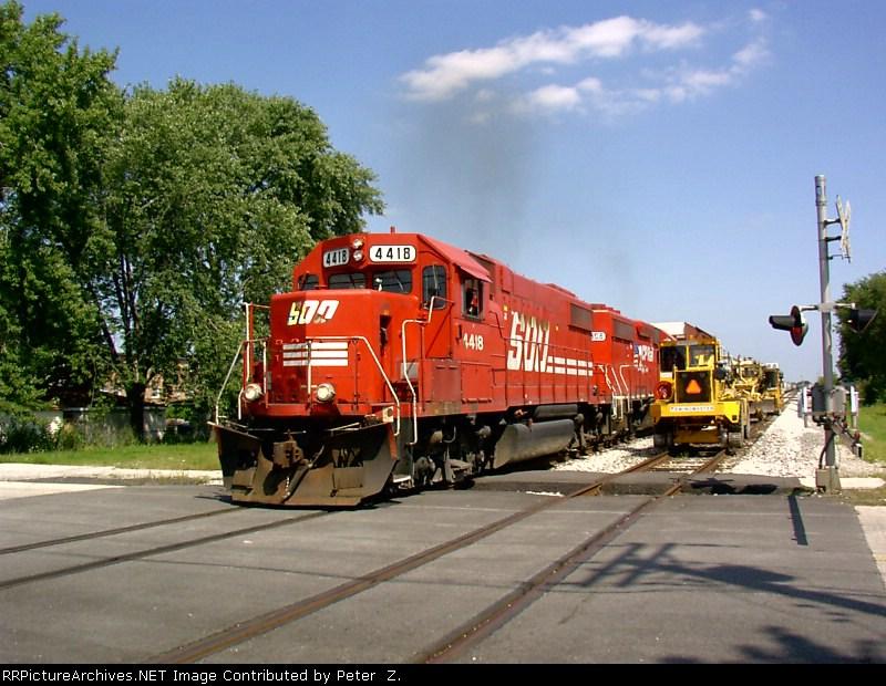 Railroading near Midway