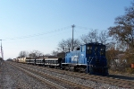 Metra Ballast train