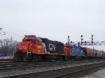 CN Railway Homewood Illinois.