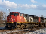 CN in the late noon sun.