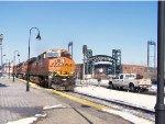 Joliet Union Station crossing.
