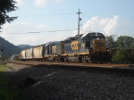 CSX H707-31 with caboose on the end
