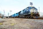 NS Train 533 leaving Ferrona Yard.