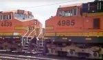 BNSF 4439/4985