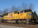UP 4847 leading this NB 38Q