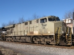NS 7544 still in primer gray, 2nd unit on the SB 15T