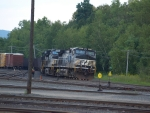 The Empty Coal Train at the West End of East Deerfield