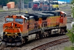 BNSF 981 and 4866