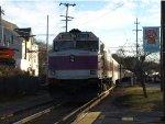 MBTA Boston Bound Commuter