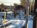 Boston Bound MBTA Commuter Rail Train